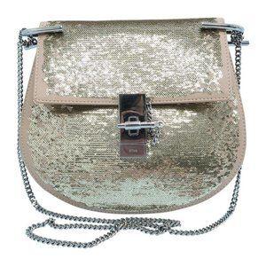 Chloe Medium Sequin Drew Bag